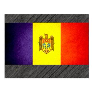 Sun kissed Moldova Flag Postcards