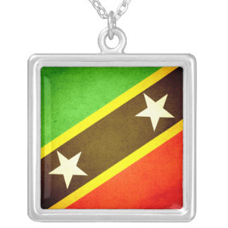 Sun kissed Saint Kitts and Nevis Flag Jewelry