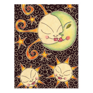 Sun & Moon Postcard