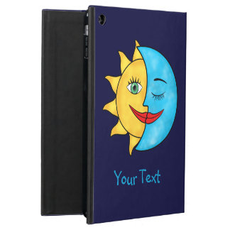 Sun Moon Solar Rays Blue Sky iPad Air Case