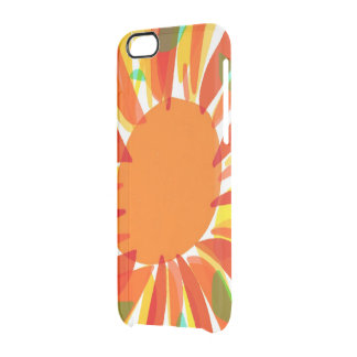 Sun or Flower? Clear iPhone 6/6S Case