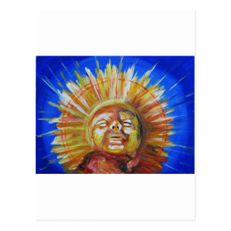 Sun Post Card