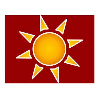 Sun Post Cards