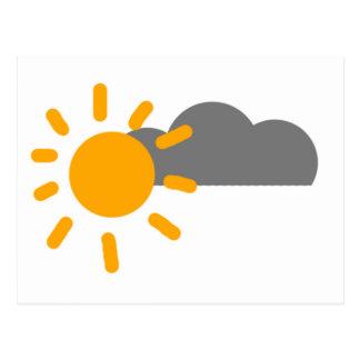 Sun Postcard
