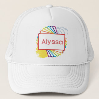 Sun&Rainbow for Alyssa Trucker Hat