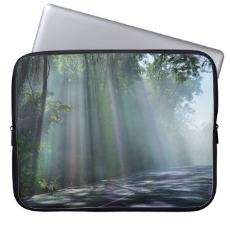 Sun-rays-Nature Landscape Laptop Sleeve