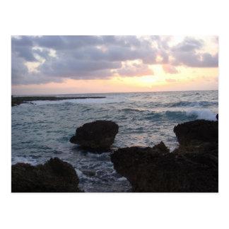 Sun Rise on the Riviera Maya Post Card
