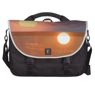 SUN - Smiles in MORNING Fades by EVENING Laptop Commuter Bag