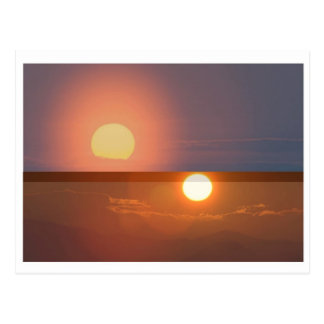 SUN -  Smiles in MORNING, Fades by EVENING Postcard