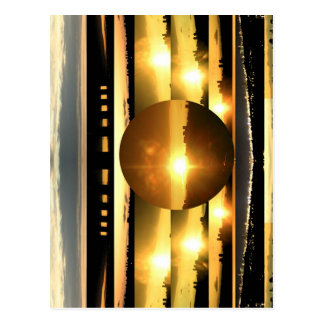 SUN - Source of Vital Energy Postcard