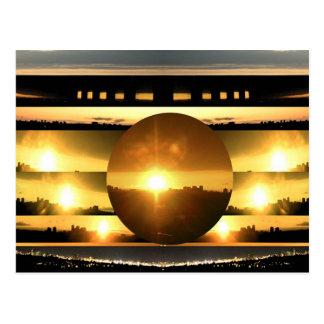 SUN - Source of Vital Energy Postcard