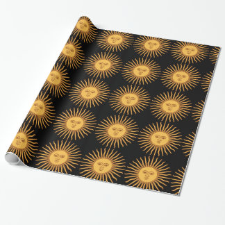 Sun Wrapping Paper