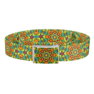 Sunburst Kaleidoscope   Custom Belts