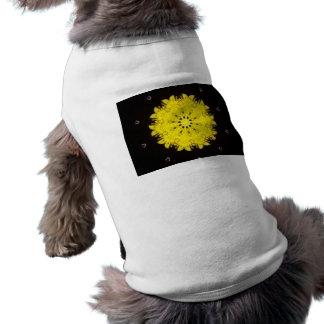 Sunburst Kaleidoscope Doggie Ribbed Tank Top