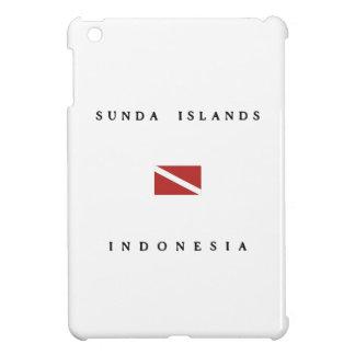 Sunda Islands Indonesia Scuba Dive Flag Cover For The iPad Mini