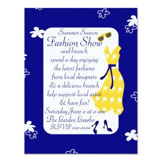 Sundress Fashion Show 4.25x5.5 Paper Invitation Card