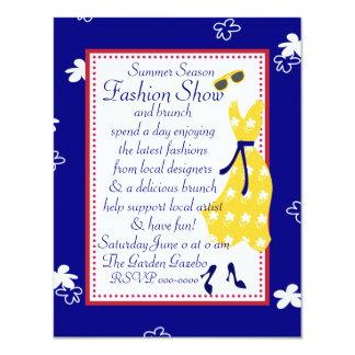 Sundress Fashion Show Custom Invite