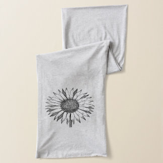 Sunflower Bliss Scarf