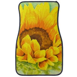 Sunflower Car Mat