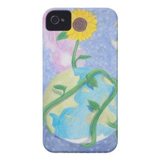 Sunflower case iPhone 4 Case-Mate cases