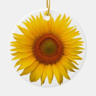 Sunflower Christmas Ornaments