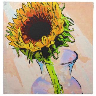 Sunflower Colour Napkin
