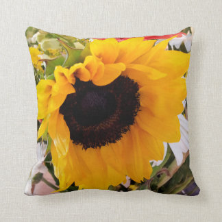 Sunflower/Daisy Pillow Cushion