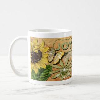 Sunflower & Eiffel Tower Coffee Mug