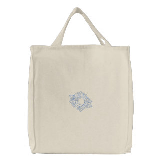Sunflower Embroidered Tote Bag