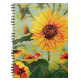 Sunflower Floral Journal