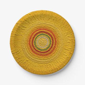 "Sunflower for All Seasons 7"" Paper Plate"