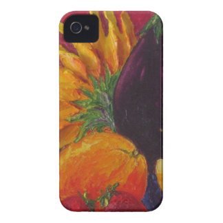 Sunflower & Fruit iPhone 4 Case