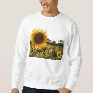 Sunflower garden.Beautiful flowers Sweatshirt