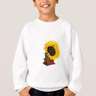 Sunflower gramophone sweatshirt