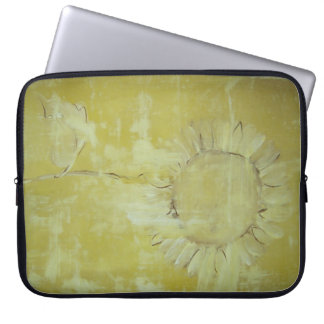 Sunflower Painting!!! Computer Sleeves