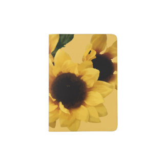 Sunflower Passport Holder