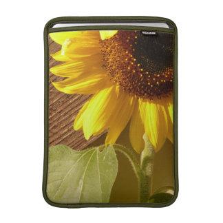 Sunflower Photo Macbook Rickshaw Sleeve