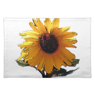 Sunflower, placemat