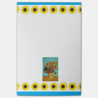 """Sunflower Post-its  4"""" x 6"""" Post-it Notes"""