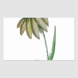 Sunflower Rectangular Sticker