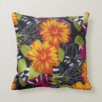 sunflower riot cushion