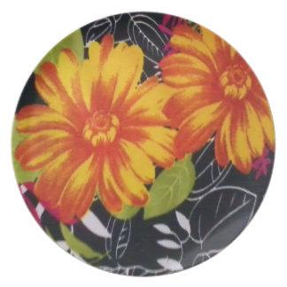sunflower riot plate