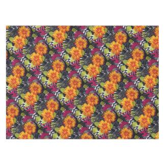 sunflower riot tablecloth