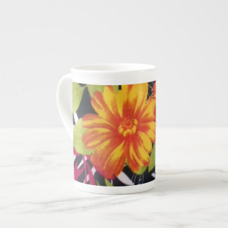 sunflower riot tea cup