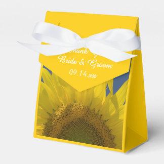 Sunflower Rising Wedding Favor Box