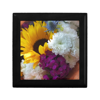 Sunflower Surprise Small Square Gift Box