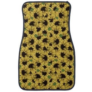 Sunflowers Automotive Car or Truck Floor Mats