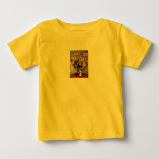 Sunflowers by Claude Monet Baby T-Shirt