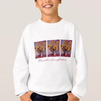 Sunflowers by Claude Monet Sweatshirt