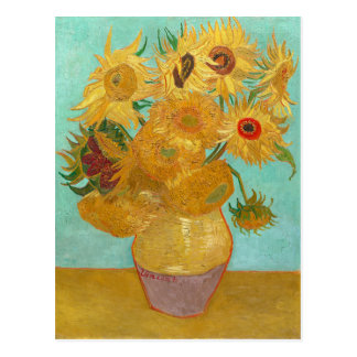 Sunflowers by Van Gogh Postcard